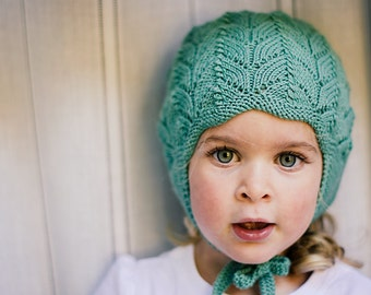 PDF Knitting Pattern to Knit Your Own Hat at Home - Little CLOVER Earflap  Hat NB to 4 5 Years 4a8008d7cafa