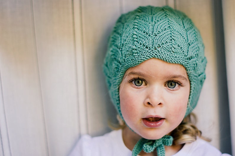 CLOVER PDF English Only Knitting Pattern to Knit Your Own Hat image 0
