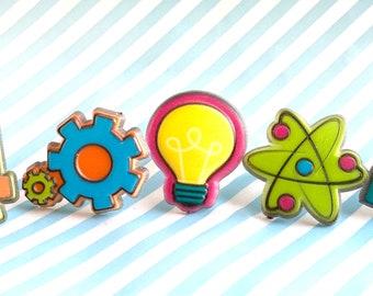 STEM cupcake rings - set of 12