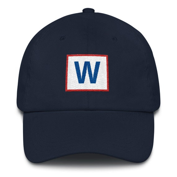 Baseball Cap - Chicago Cubs - W - Fly The W - Wrigley Field - Windy City 351224efa2a