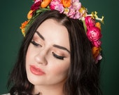 DIY Floral Crown Tutorial Make Your Own Floral Crown Kit Bridesmaid Hen Party