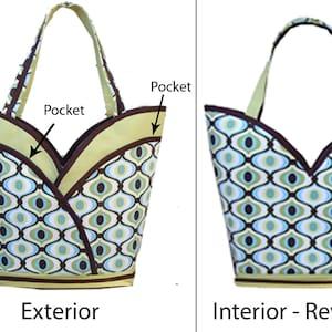 Petal Pockets Tote Bag
