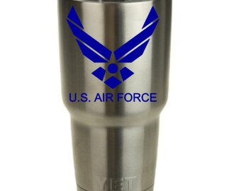 US Air Force Decal for Yeti Cup!