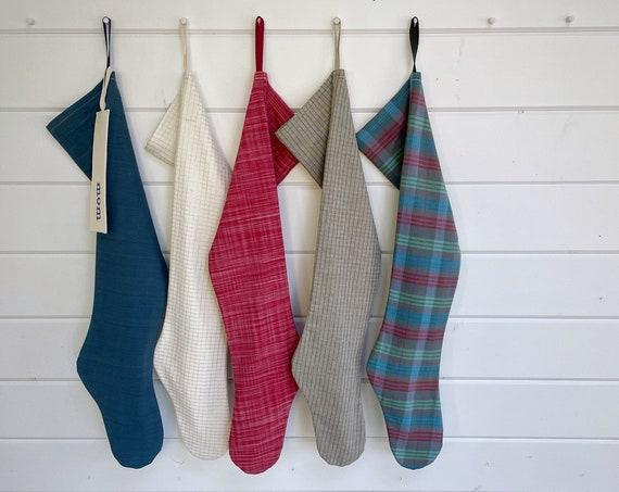 Nordic Sleigh Christmas Stocking