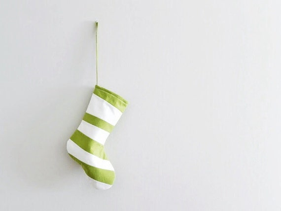 Wonky Striped PET Christmas Stocking, Personalized Holiday Stocking for a Dog Cat, Bright Modern Colorful Christmas, Inspired by Dr Seuss
