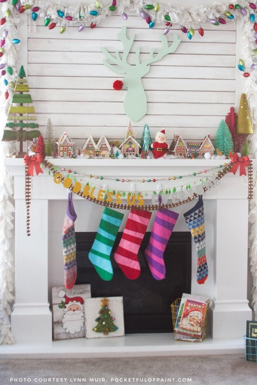 Personalized Christmas Stocking Personalized Stocking Kids