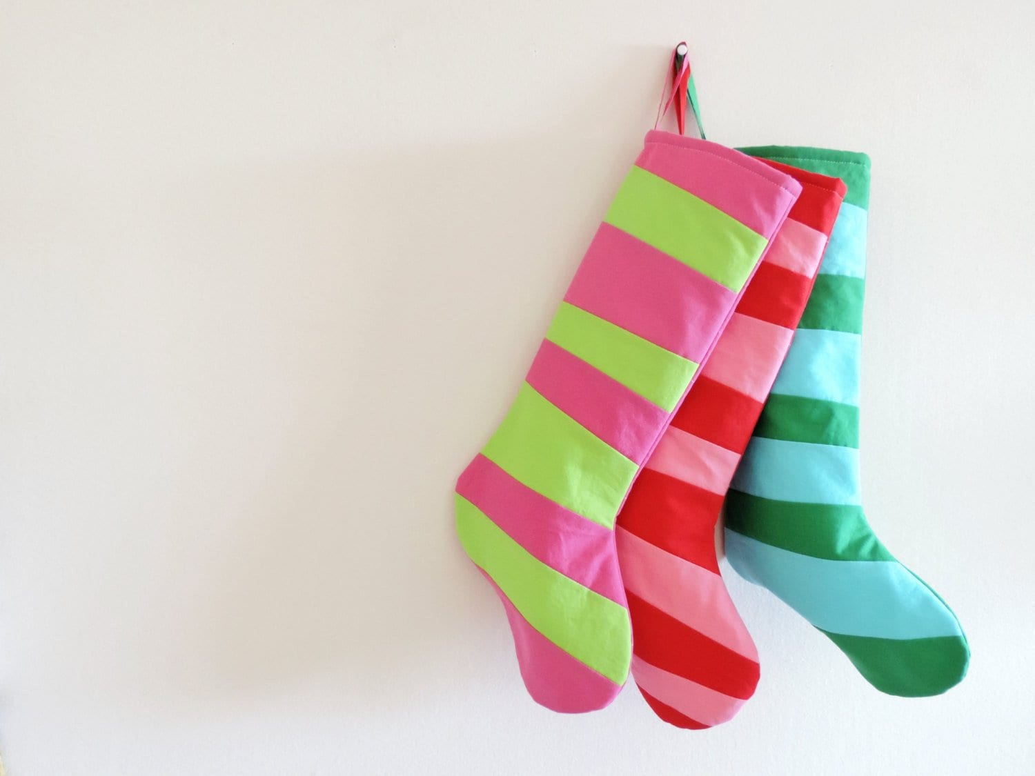 personalized christmas stocking personalized stocking kids girls boys family stockings modern wonky striped stocking inspired by dr seuss