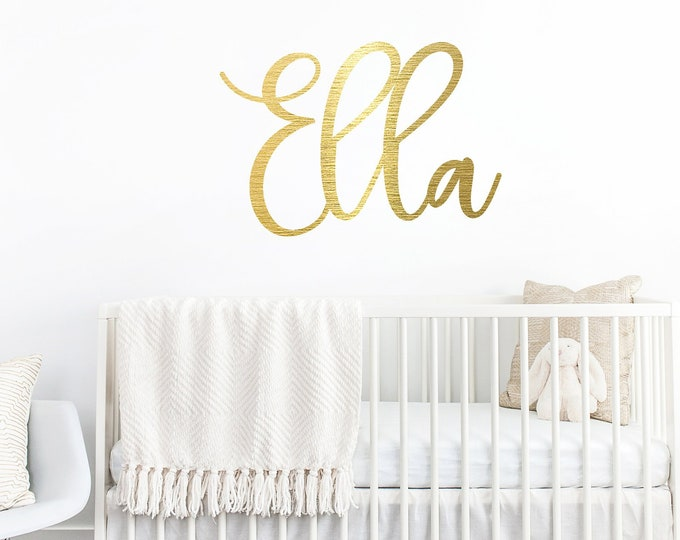 Nursery Wood NAME SIGN / Crib decor sign / Kids room name sign