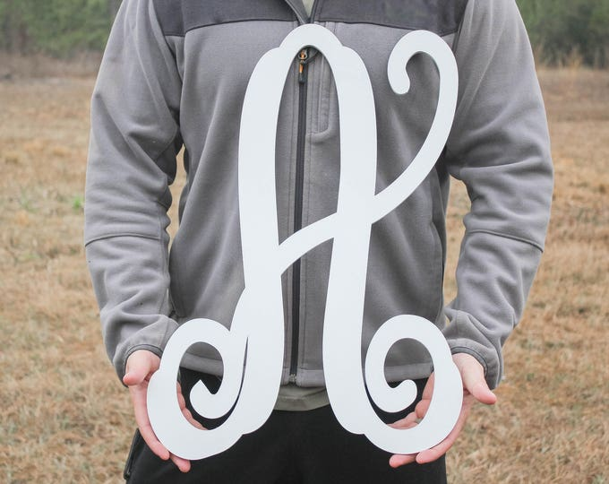 WOOD LETTER SIGN Initial / House Warming Gift / Nursery decor / Wedding Gift / Home Decor /