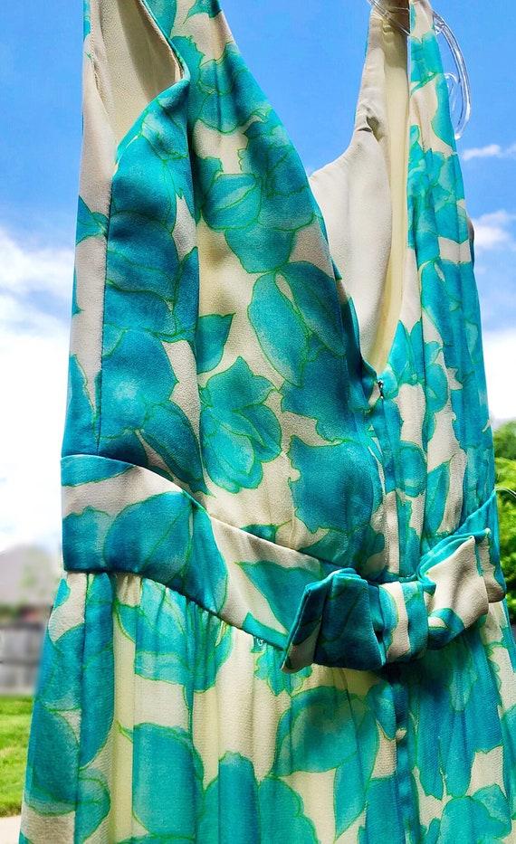 Vintage 60s Lee Claire Maxi Dress - image 2