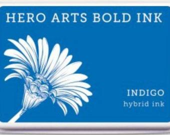 Hero Arts Indigo Hybrid Ink AF341