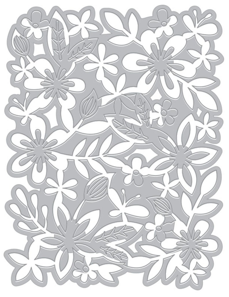 Hero Arts Flower Garden Fancy Die DI596 for Card Making. Cover image 0