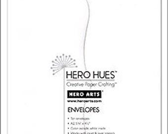 Hero Arts Snow White Envelopes A2 PS591