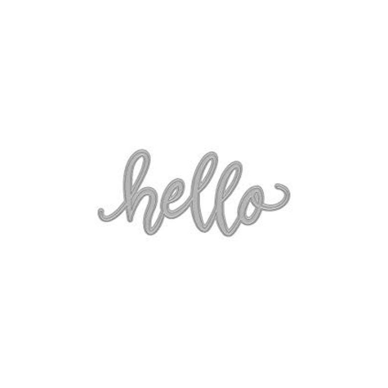 Hero Arts Hello Die // Hero Arts Fancy Message // Hello Die // image 0