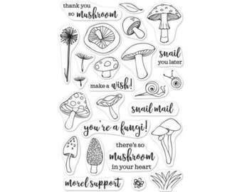 SALE Hero Arts: CM158 You're a Fungi, clear stamp