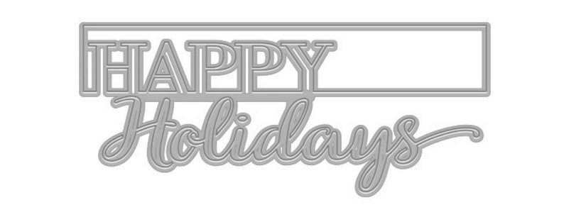 Hero Arts Cut-Out Holidays Fancy Die B  DI537 Stamping image 0