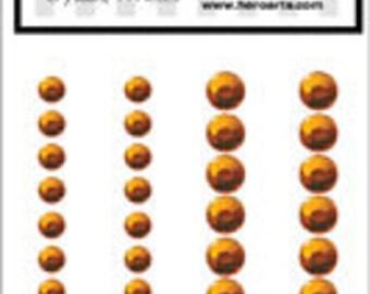 SALE Hero Arts Orange Metallic Decor Embeliishments CH201