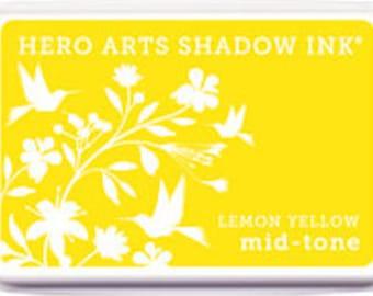 Hero Arts Lemon Yellow Ink Pad AF261 Catalog 2014