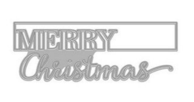 Hero Arts Cut-Out Christmas Fancy Die B DI536 Stamping2018 image 0
