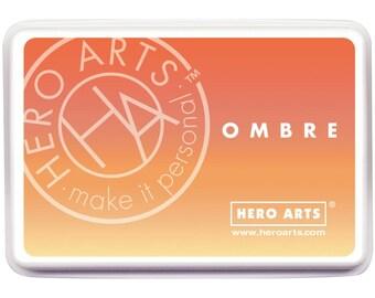 Hero Arts Ombre Butter to Orange Ink AF309