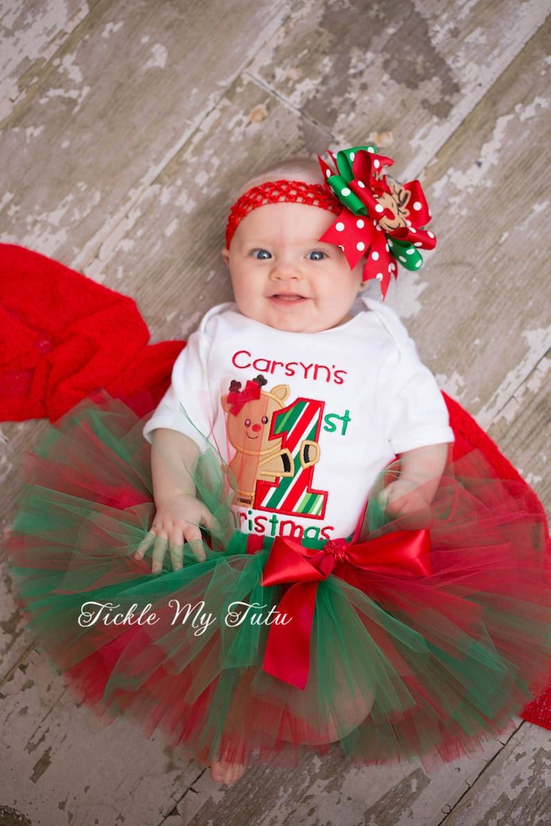 5f88a9bdef4e8 My First Christmas Tutu Outfit-My First Christmas Tutu