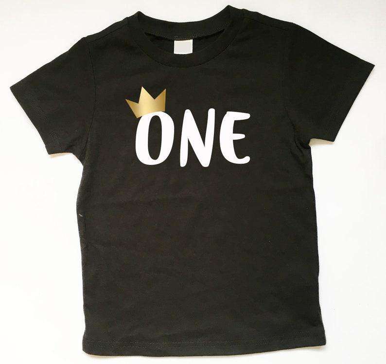 First Birthday Shirt 1st Tee One