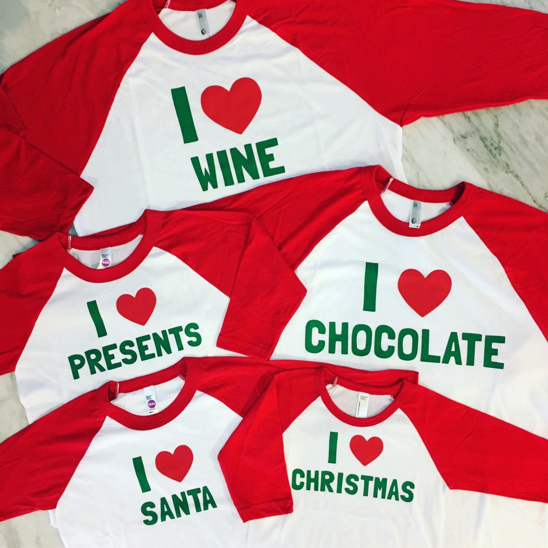 kids christmas shirt family christmas shirts matching family | Etsy