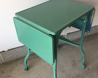 GREEN Typewriter Table