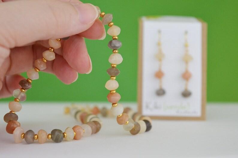 Ombr\u00e9 Dangle Earrings