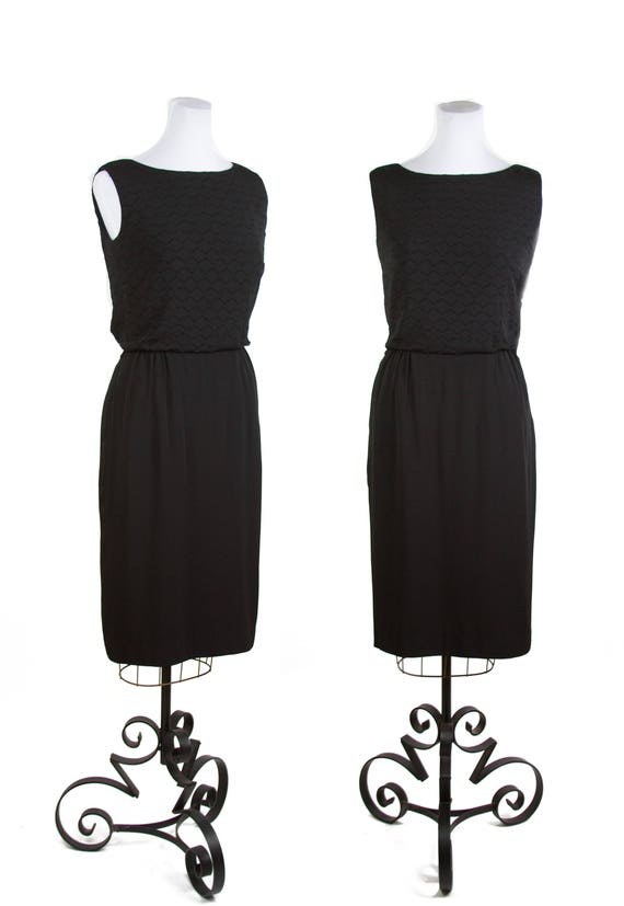 1950s Dress // Alice of California LBD Little Blac