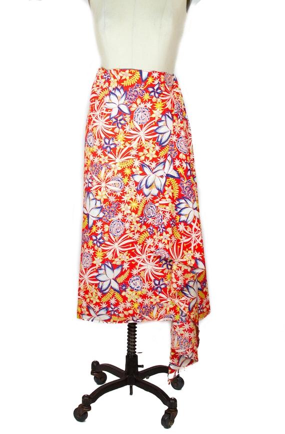 1950s Sarong Skirt ~ Paradise Sportswear Hawaiian