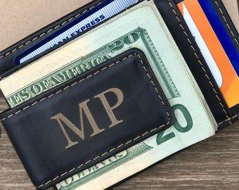 money clip wallet etsy