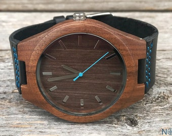 Personalized Wooden Watch, Personalized Watch, Engraved Watch, Engraved Wood Watch, Mens Wood Watch, Gifts for Him, Gifts for Husband