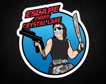 Escape from Crystal Lake Sticker