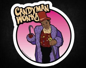 Candyman Wonka Sticker