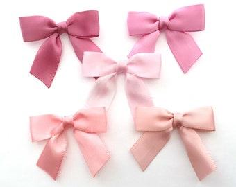 """2"""" LIGHT PINK Shades Small - 12/24/48 Handmade Bows"""