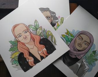 Dare Drift Dream Triptych