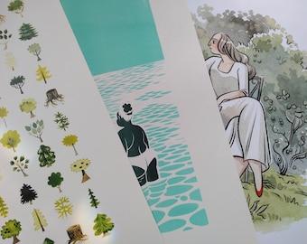 Mystery Print Pack (4 prints)