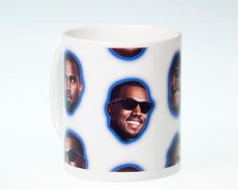 """Kanye West Mug -- White elephant gift -- """"I'ma Let You Finish Your Coffee, But..."""" Novelty Mug -- Funny mug gift"""