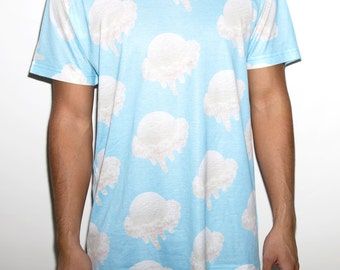 All-Over Print Ice Cream Scoops Shirt Men's / Unisex Sublimation Print