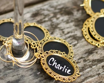 Wine Lover Gift, Wedding Favors, place cards, Wine Charms, Wine & Cheese Party, Tasting, Chocolate, Corporate Event