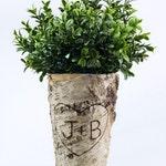 Rustic bridal shower decoration,Birch Vase,Bridal Shower Gift,Custom Wedding Gift,Wedding Vase,Rustic Bridal Shower Decorations, BV111