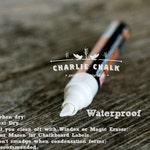 Water proof Chalk Marker pen, White Chalk Marker Chalk Pen WATERPROOF 6mm Made in Japan NOT China