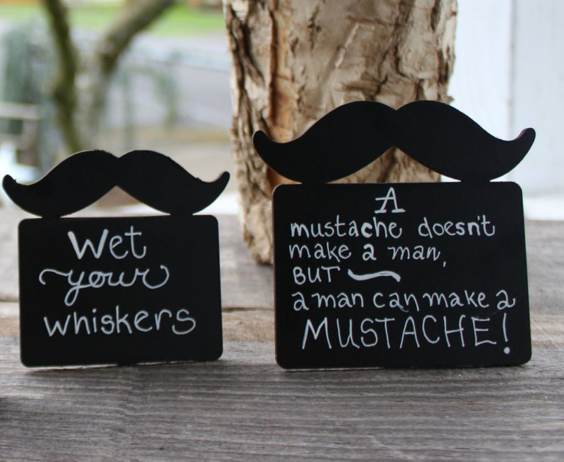 Little Man Baby Shower Mustache Birthday Party Decorations image 0