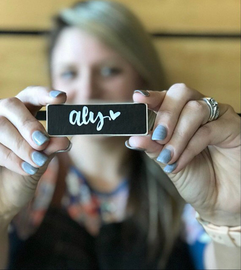 125 Rectangle Name Tags for Ashley and 15 Logo Name Tags image 0