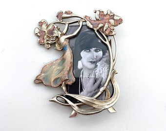 Photo Frame With Fired Glass Enamel