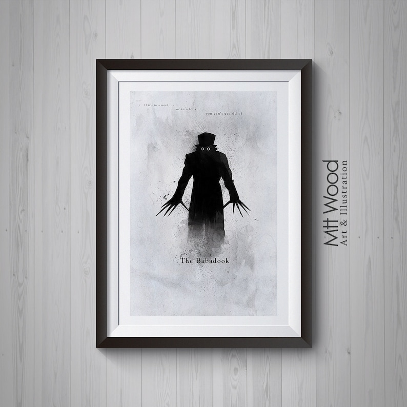 The Babadook Art Print  You Can't Get Rid Of Poster image 0