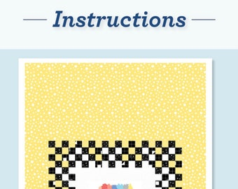 Instructions - A Twin Bed Quilt