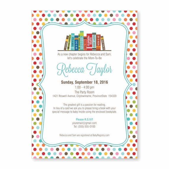 Book theme baby shower invite story book baby shower etsy image 0 filmwisefo