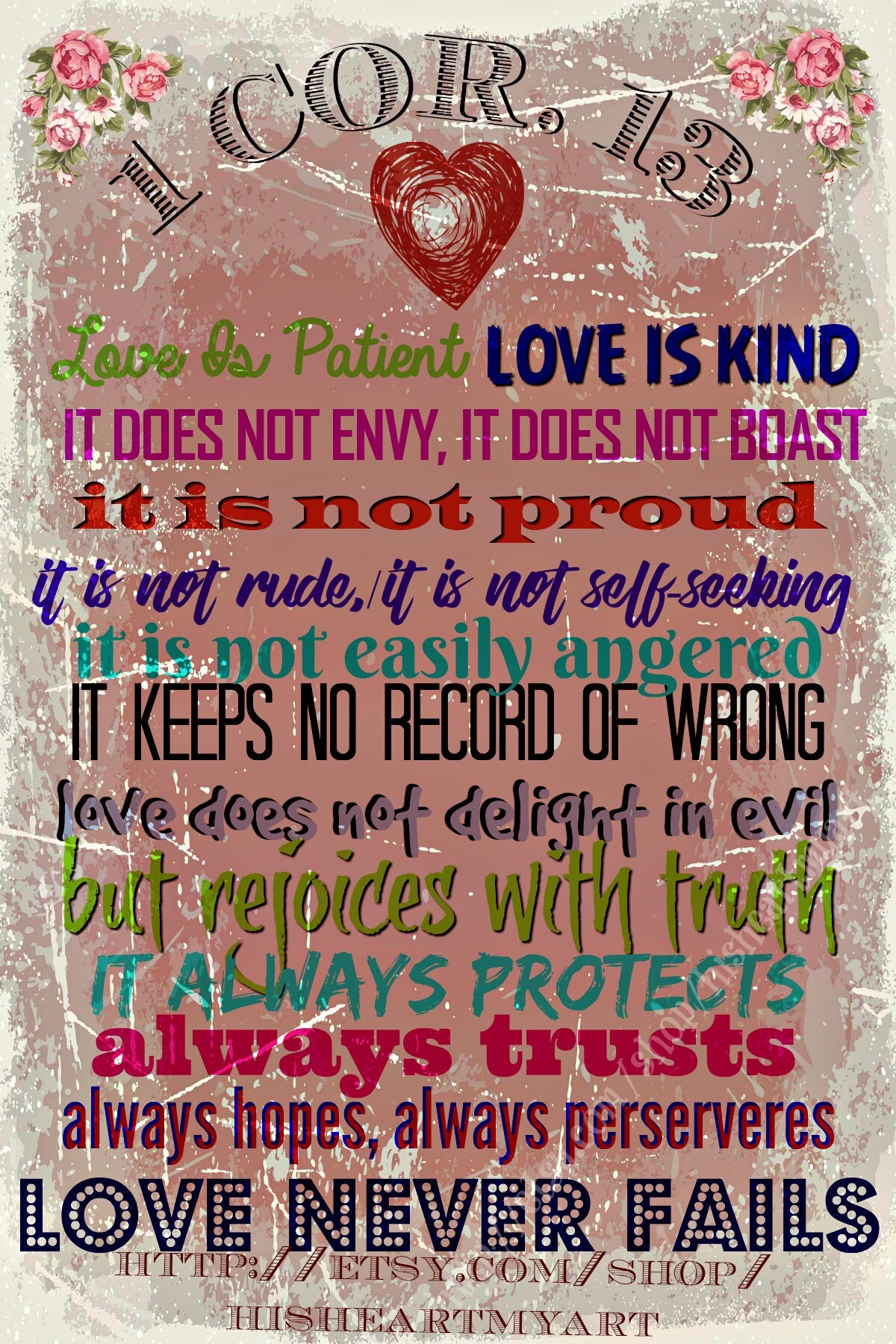 1 Corinthians 13 What is true LOVE Valentine\'s Day True